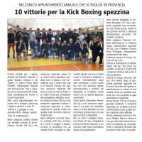 10 vittorie per la kick-boxing spezzina