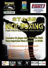 Stage Kick Boxing 23 giugno La Spezia