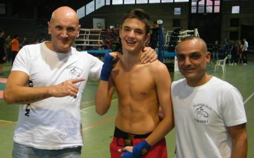 Venturini Omar campione regionale Kick tecnica -63,5 Kg