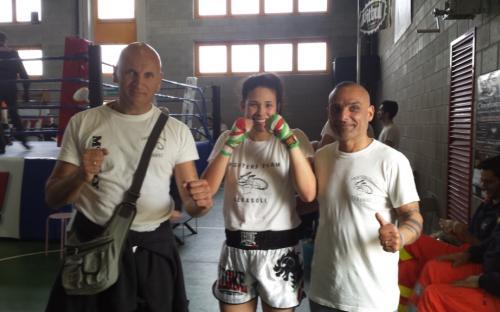 Ambrosini Jennifer titolo italiano -65 Kg Fight Code Tecnica