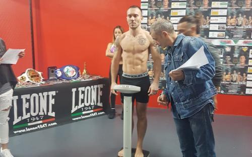 Diego Simonelli galà Muay Thai Time
