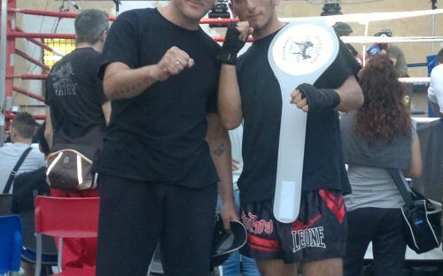 Asciano 27/05/2012 Nicola Ferraro vince il Superfight