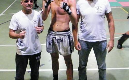 Breviglieri campione ligure -70 Kg