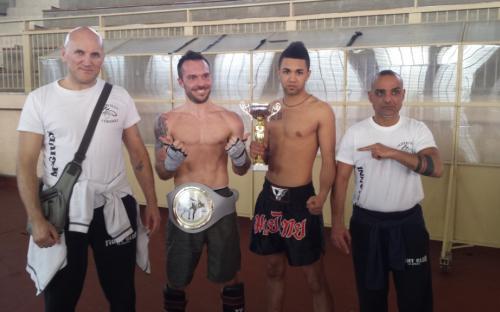 Diego vince il torneo -70 Kg e Antony vince i -65 Kg