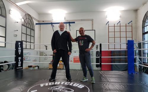 Il ring del Fight Club La Spezia