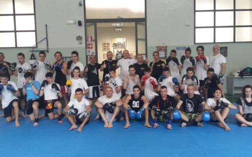 Stage di Muay Thai con M° Luca Della Rosa